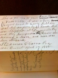 Jacob Poe Letter to US Army Quartermaster undated (Courtesy of the National Archives)