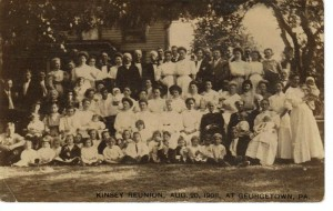 Kinsey Family Reunion in Georgetown 1908 (Anna L and John F Nash Collection)