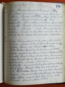 BM Laughlin Book P189 (Frances and John Finley Collection)