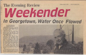Georgetown Water System p1 (Anna L and John F Nash Collection)