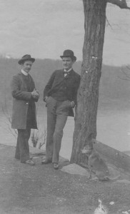 France Nash and Clyne Laughlin (Anna L and John F Nash Collection)