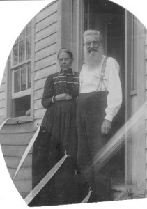 Sarah and George Nash (Anna L and John F Nash Collection)