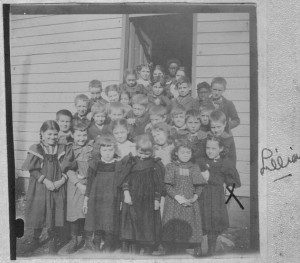 Lillian May Poe 1897 Old School House