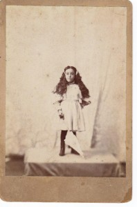 Lillian May Poe ca 1895 (Anna L and John F Nash Collection)