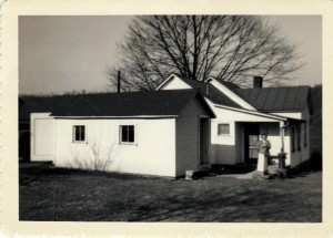 Georgetown Blockhouse c1950 (Anna L and John F Nash Collection)