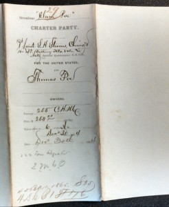 Str Clara Poe Charter 1864 (The National Archives)